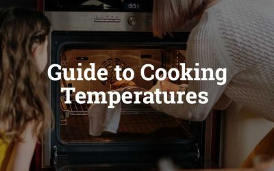Guide to Cooking Temperatures