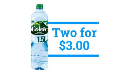 Volvic Water – 1.5L – 2 for $3.00